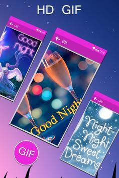 Good Night Gif collection apk screenshot
