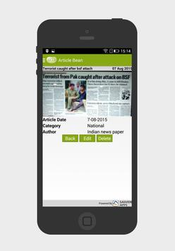 Article Bean apk screenshot