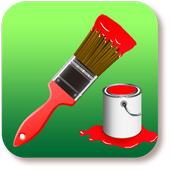 Simple Paint Brush for Tablet icon