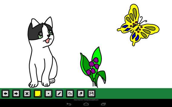 Simple Paint Brush for Tablet apk screenshot