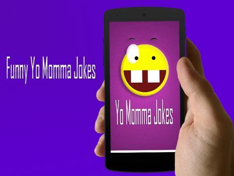 Funny Jokes Yo momma SMS poster