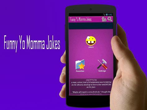 Funny Jokes Yo momma SMS apk screenshot