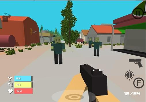 Zombie-Land Survival screenshot 1