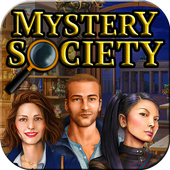 Hidden Objects: Mystery Society HD Free Crime Game icon