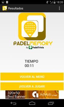 PadelMemory - Juego de Padel screenshot 4