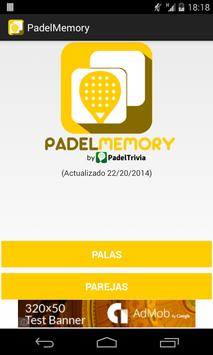 PadelMemory - Juego de Padel poster