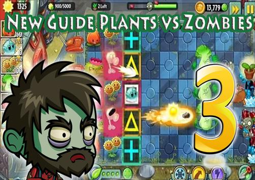 Guide for Plants VS Zombies 3 poster