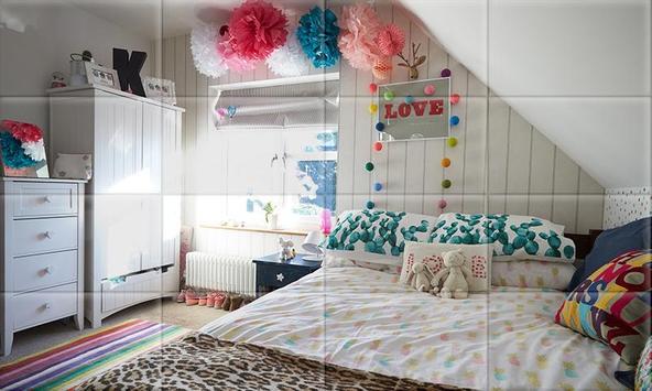 Tile Puzzle Girls Bedrooms apk screenshot