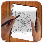 Learn to draw inuyasha icon
