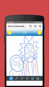 How To Draw Rick and Morty apk screenshot