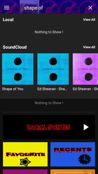 Online Music Player (Sound cloud Support) screenshot 14