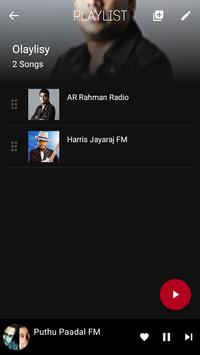 Online Music Player (Sound cloud Support) screenshot 8