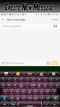 Tamil Hindi Keyboard English typing with emojis screenshot 7
