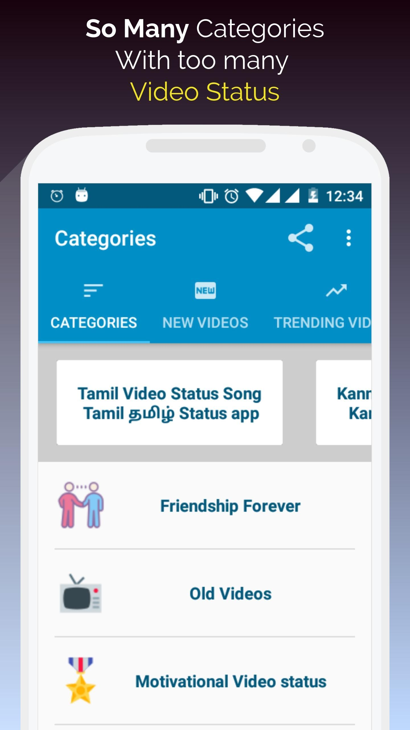 Tamil Video Status and Tamil Status Videos App for Android
