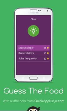 FOOD QUIZ - Prove your IQ apk screenshot