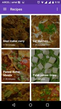 Indian Curry & Gravy Recipes poster