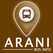 Arani Bus Info icon