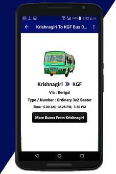 Krishnagiri Bus Info screenshot 7