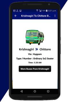 Krishnagiri Bus Info screenshot 5