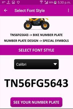 Vehicle Number Plates Creator screenshot 4