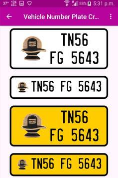 Vehicle Number Plates Creator screenshot 5