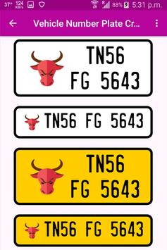 Vehicle Number Plates Creator screenshot 7