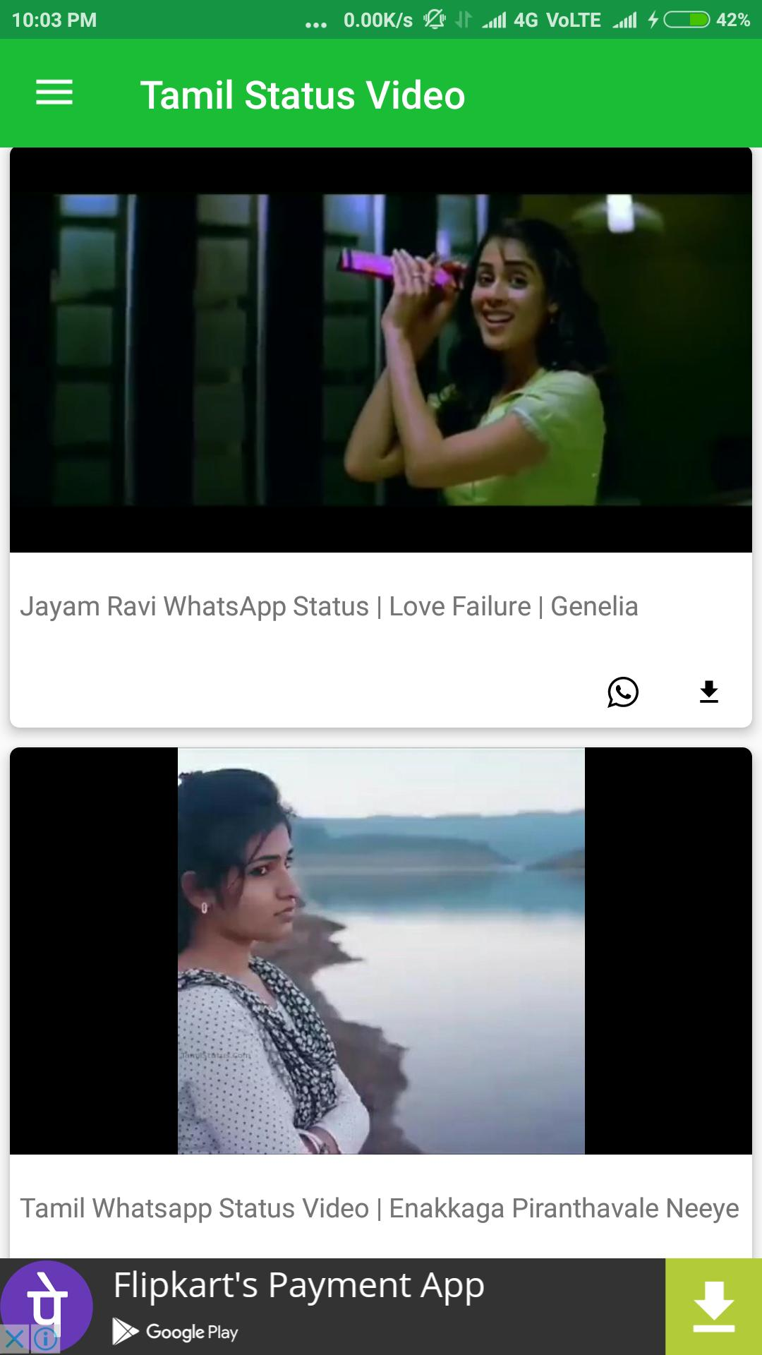 Tamil Video Status For Android Apk Download