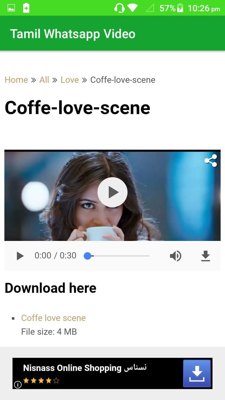 Tamil videos for status for Android - APK Download