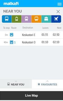 Tampere Nysse Bus Live apk screenshot