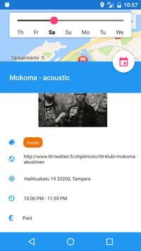 Tampereen Tapahtumat screenshot 2