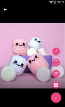 Cute Marshmallow Wallpaper HD screenshot 3