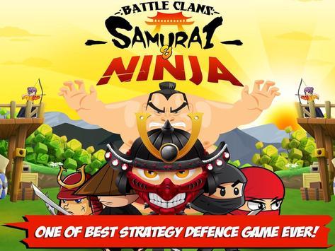 Battle Clans Samurai and Ninja poster