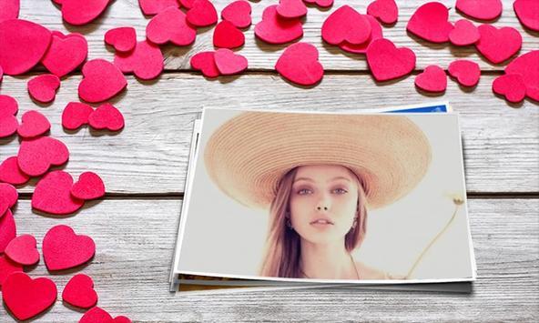 Lovely Romantic Photo Frame poster