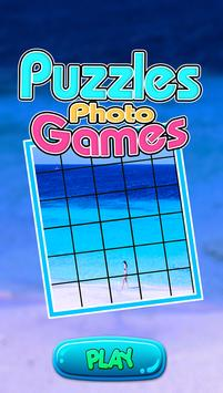 Blue Puzzle Games poster