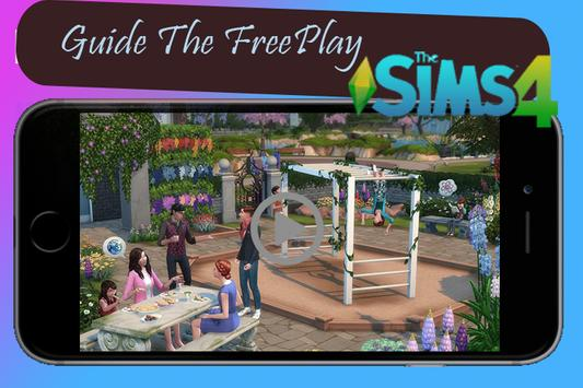 Guide The sims4 building - Freeplay poster
