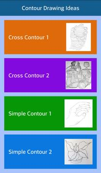 Contour Drawing Ideas poster