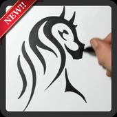 Creative Art Drawing Ideas icon