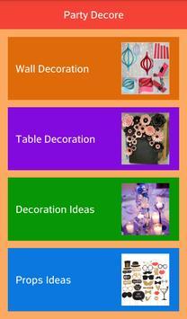 Elegant Party Decor apk screenshot