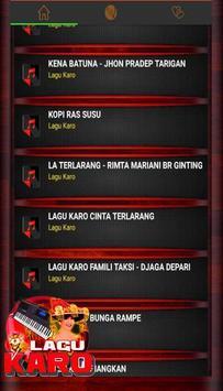 Lagu Karo Populer poster
