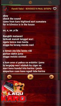 Lagu Karo Populer screenshot 2