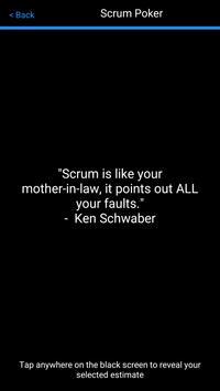 Agile/Scrum Poker poster