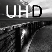 Black White UHD Live Wallpaper icon