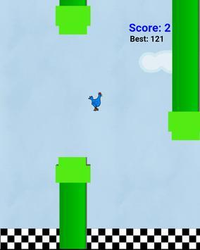 Flappy chicken bird screenshot 1