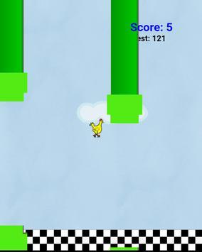 Flappy chicken bird screenshot 2