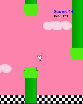 Flappy chicken bird screenshot 3