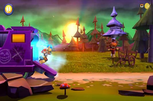 Game Angry Birds Transformers Trick screenshot 3