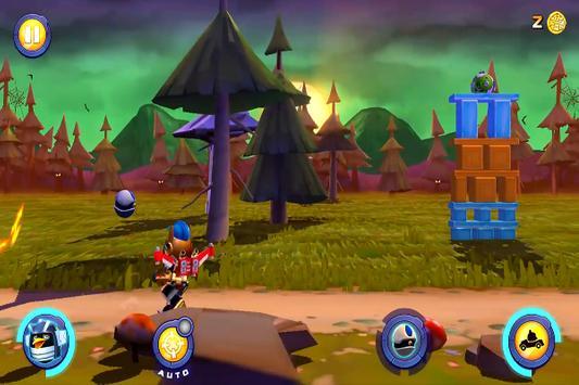 Game Angry Birds Transformers Trick screenshot 4