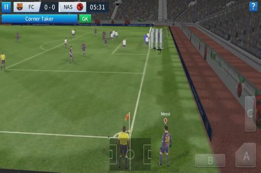 Game League Soccer 2017 Vs 2018 dream Trick screenshot 4