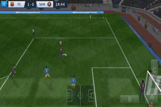 Game League Soccer 2017 Vs 2018 dream Trick screenshot 2