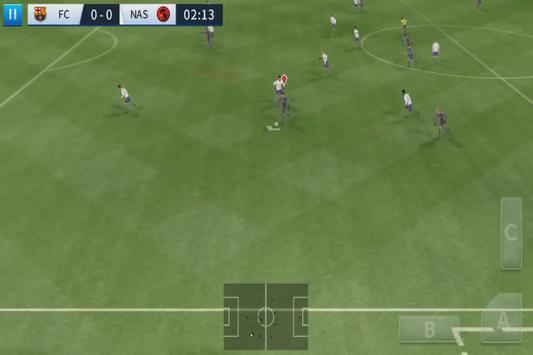 Game League Soccer 2017 Vs 2018 dream Trick screenshot 3